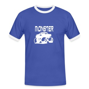 GUM Monster Truck - Men's Ringer Shirt