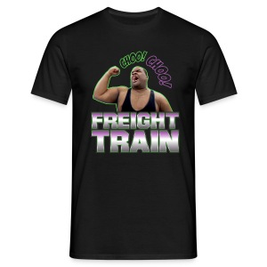 Freight Train - Men's T-Shirt