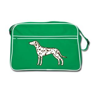 Dalmatiner - Retro Tasche