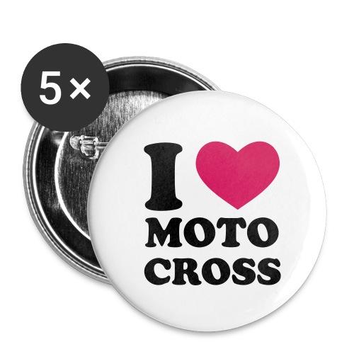 MX FRATZSCHER Fan Shirt - Buttons groß 56 mm