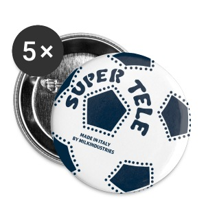 SuperTele Juventus 5PackPins - Spilla media 32 mm