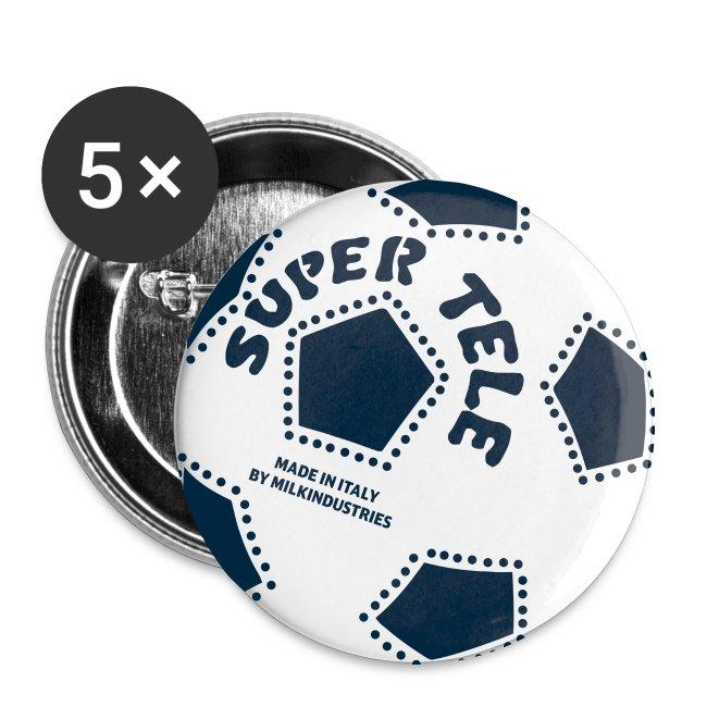 SuperTele Juventus 5PackPins