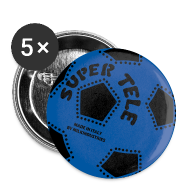 Bottoni & spille ~ Spilla media 32 mm ~ SuperTele Inter 5PackPins