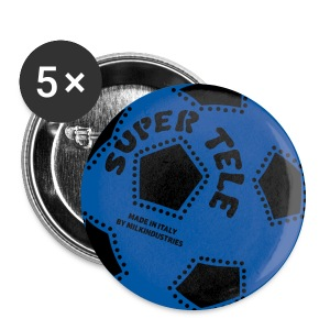SuperTele Inter 5PackPins - Spilla media 32 mm
