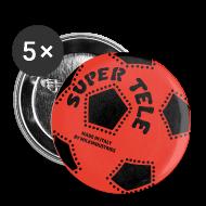 Bottoni & spille ~ Spilla media 32 mm ~ SuperTele Milan 5PackPins