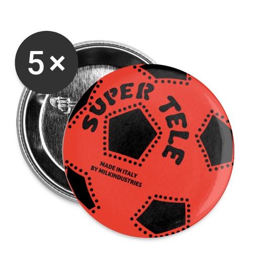 SuperTele Milan 5PackPins - Spilla media 32 mm