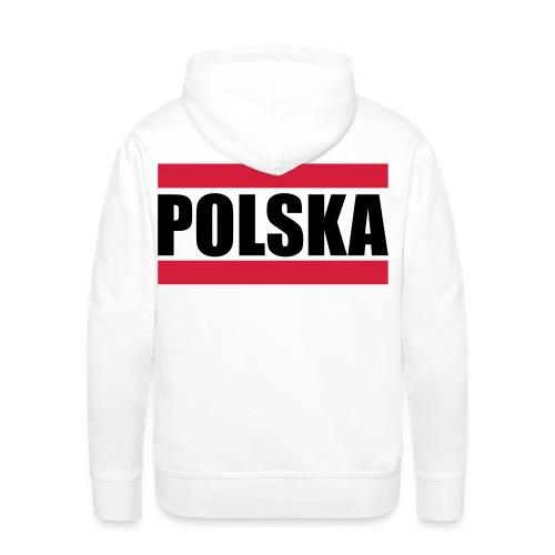 POLSKA shirt - Mannen Premium hoodie