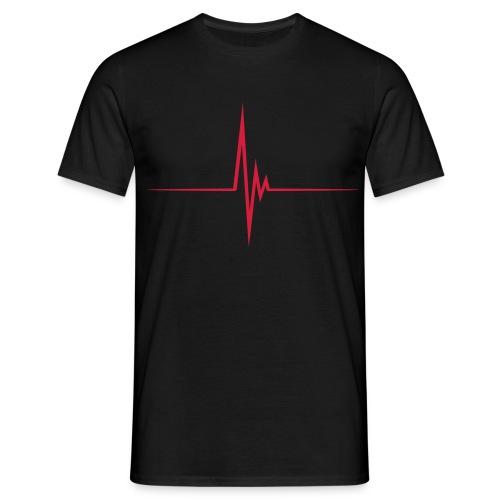 Flat lining - Men's T-Shirt