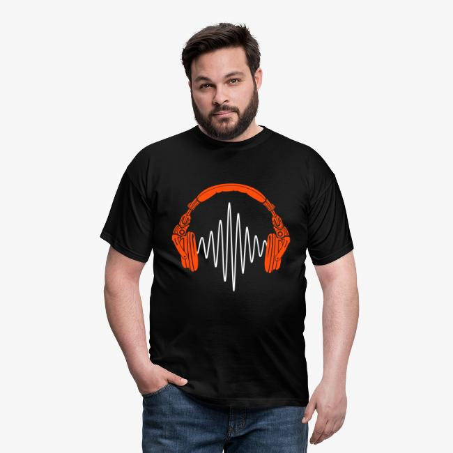 "Men's ""Tron Headphones"" T-Shirt"