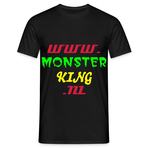 www.monsterking.nl t-shirt classic - Mannen T-shirt
