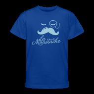 Shirts ~ Teenage T-shirt ~ La Moustache