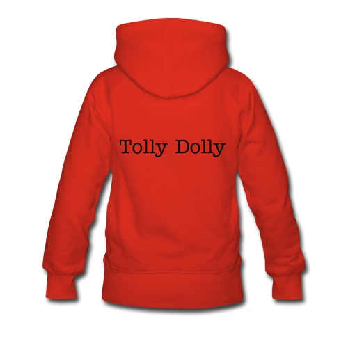 Red Tolly Dolly Sweatshirt - Women's Premium Hoodie