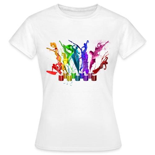 Damenshirt Klassisch - Frauen T-Shirt