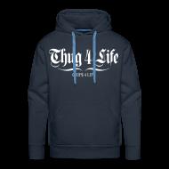 Sweat-shirts ~ Sweat-shirt à capuche Premium pour hommes ~ Sweat à capuche homme thug 4 life crips 4 life