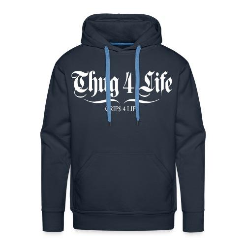 Sweat à capuche homme thug 4 life crips 4 life - Sweat-shirt à capuche Premium pour hommes