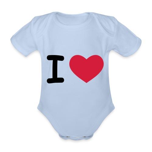 I Love Titti!!! - Baby Bio-Kurzarm-Body