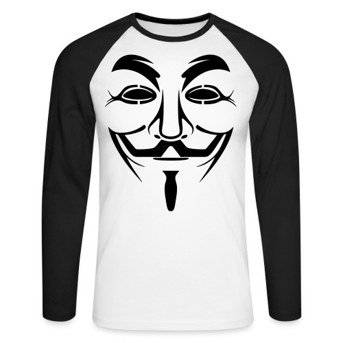 ANONYMOUS T-SHIRT By BOOM - T-shirt baseball manches longues Homme