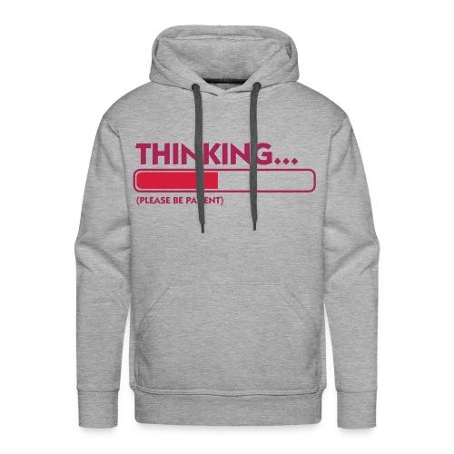 Thinking .. - Sudadera con capucha premium para hombre