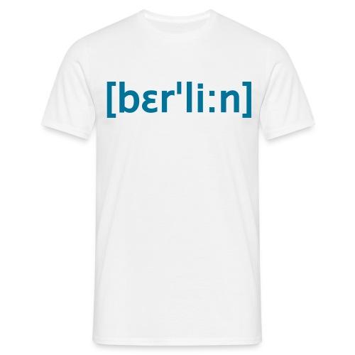 Berlin Lautschrift T-Shirt  - Männer T-Shirt