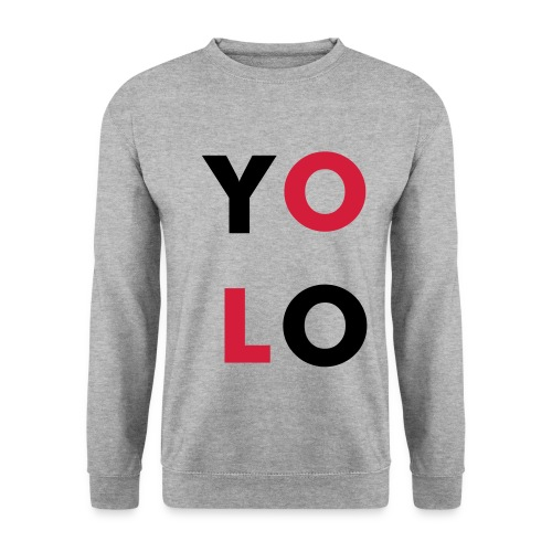 Mannen sweater ''YOLO'' - Mannen sweater