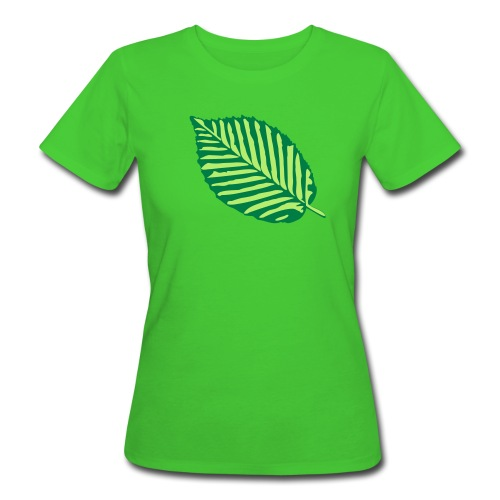 Hoja - Camiseta ecológica mujer