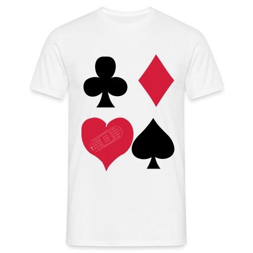 love is a game - Maglietta da uomo