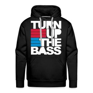 Turn Up The Bass - Men's Premium Hoodie