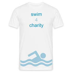 swim 4 charity - Men's T-Shirt