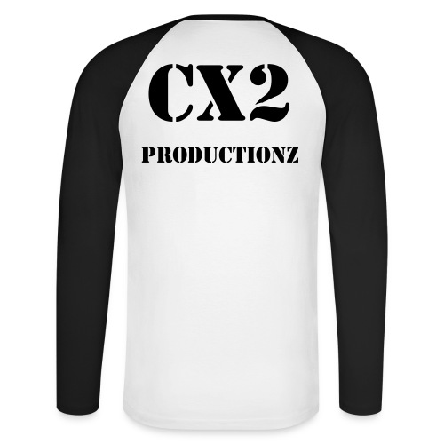 CX2productionz longarmed - Men's Long Sleeve Baseball T-Shirt