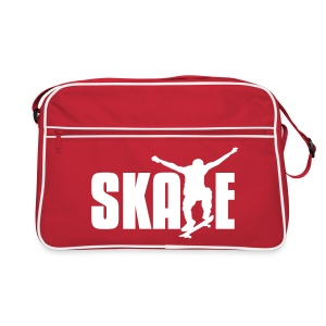 Retro Skate Shoulder Bag -Red/White - Retro Bag