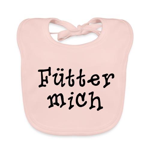 Fütter mich!! - Baby Bio-Lätzchen