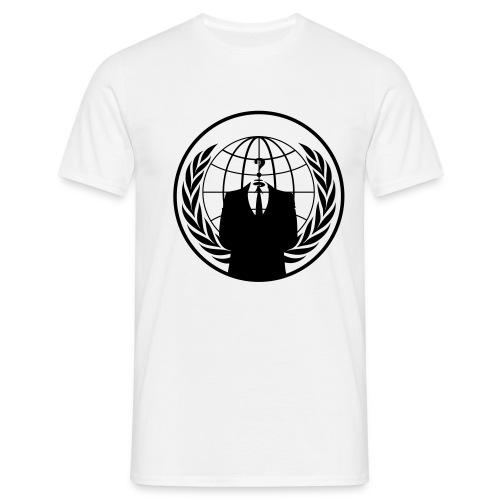 Anonymus Logo - Männer - Männer T-Shirt