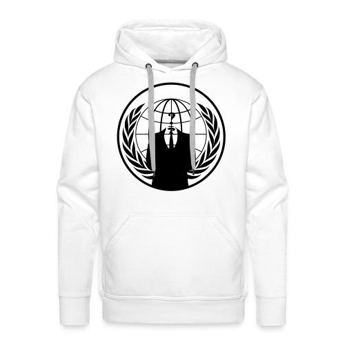 Anonymus Logo - Hoddie - Männer Premium Hoodie