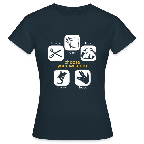 Choose your Weapon - Women's T-Shirt