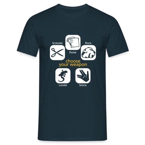 Choose your Weapon - Men's T-Shirt