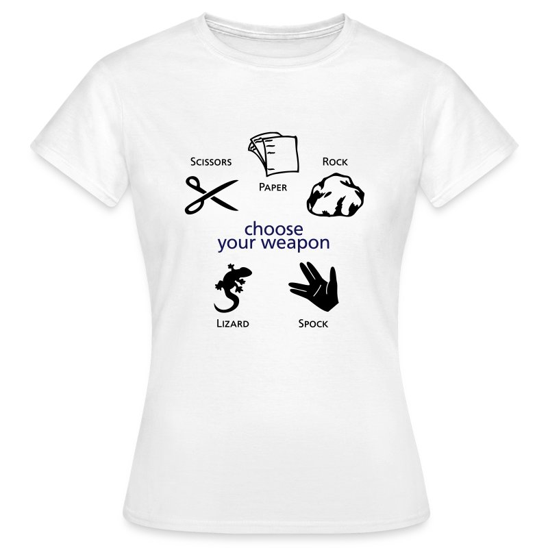 Choose your Weapon - Women's T-Shirt