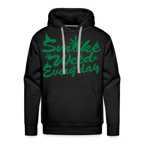 DailyWAVE - Smoke Weed Everyday - Men's Premium Hoodie