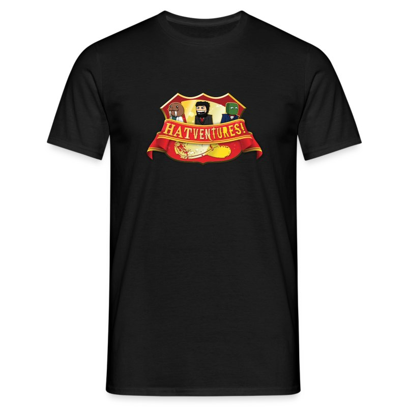 Hatventures Shield - Men's T-Shirt