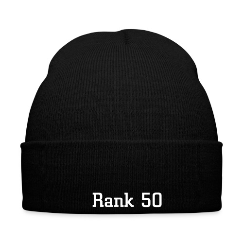 Rank 50 Hat - Winter Hat