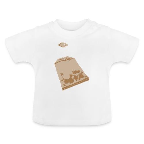 Teabag on babies - Baby T-Shirt