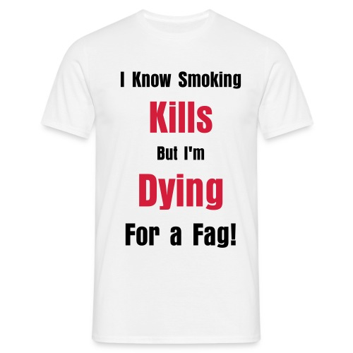 Smoking Kills - Men's T-Shirt