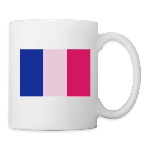 Tasse avec drapeau - Mug blanc