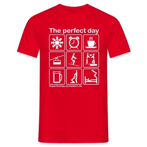 Ski - Männer T-Shirt