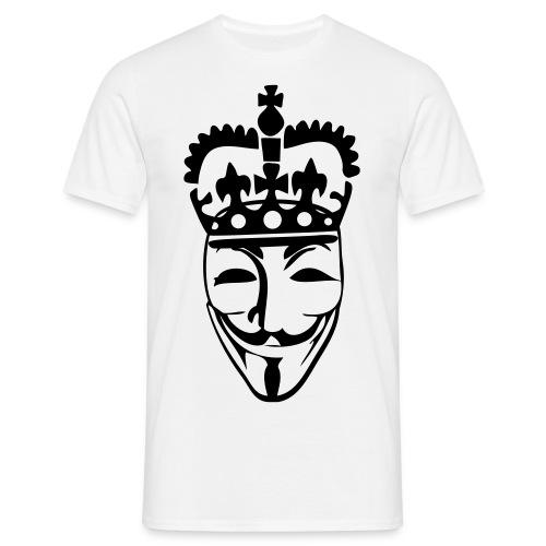 Anonymous King - Koszulka męska