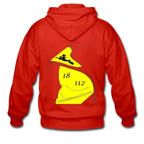 Veste à capuche Premium Homme - 112,18,France,Sapeurs,alarme,botte,casque,extincteur,feu,grade,incendie,lance,pompiers,professionnel,sauvetage,secourisme,sécurité,veste,volontaire
