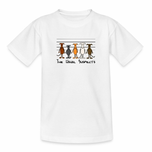 Suspects - Teenager T-Shirt