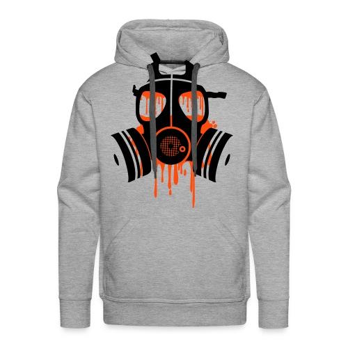 gasmask - Mannen Premium hoodie