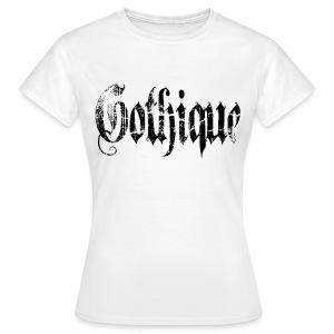 T shirt femme gothique - T-shirt Femme