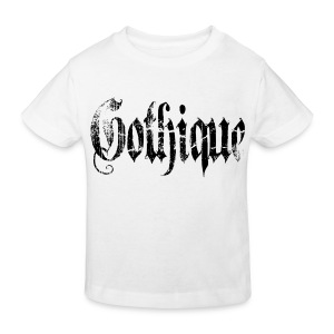 T shirt enfant gothique - T-shirt bio Enfant