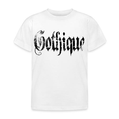 T shirt enfant gothique - T-shirt Enfant